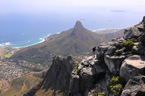 The view from  Table Mountain, Cape Town (2)