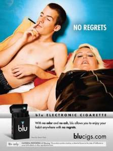 recent e-cigarette ad