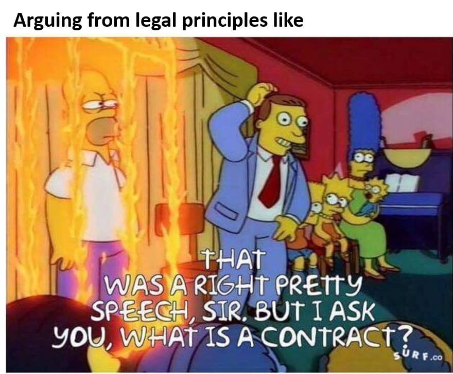 Law meme two